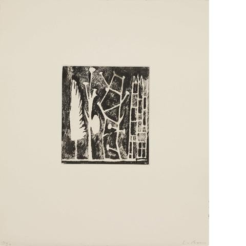 Fifty Etchings (No 12)