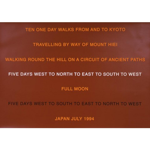 Ten One Day Walks from and to Kyoto, July 1994