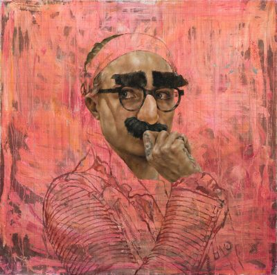Cara Study XII (Groucho)